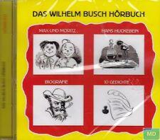 Wilhelm Busch + Tolles Hörbuch + CD + Märchen + Gedichte + Biografie u.a. + NEU