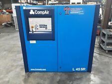55 kw CompAir Rotary Screw Air Compressor Model L45SR #512TAW