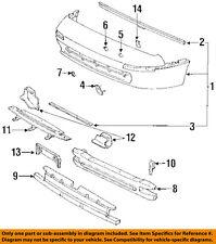 TOYOTA OEM 91-95 MR2 Bumper Face-Foam Impact Absorber Bar 5261117020