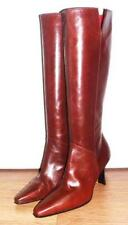 Mid Heel (1.5-3 in.) Slim 100% Leather Boots for Women