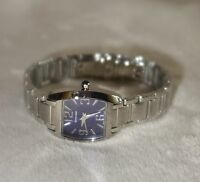 ROVEN DINO LADIES BASE METAL BLUE FACE SWISS MADE WATCH SAVOY new