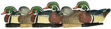 Avian-X Top Flight Wood Duck Floater Decoy (6 Pack), Brown, Multi, One Size