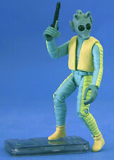 STAR WARS POTF LOOSE VERY RARE GREEDO COMMTECH CHIP IN MINT CONDITION. C-10+