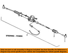 GM OEM Steering Gear-Outer Tie Rod End 25956927