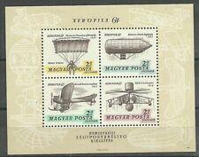 HUBSCHRAUBER-Zeppeline.../ Ungarn MiNr Block 57 A **