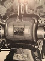Vintage 1931 Black and Decker Electric Tool Illustrated Trade Print Ad
