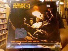 Public Enemy Yo! Bum Rush the Show LP sealed vinyl RE reissue Def Jam