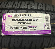 4 New LT 275 70 18 LRE 10 Ply Nexen Roadian AT Pro RA8 Tires