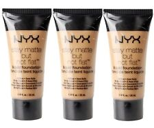 3 x NYX 35mL STAY MATTE BUT NOT FLAT FOUNDATION SMF04 CREAMY NATURAL - NEW