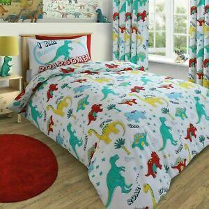 Dinosaur Single Kids Bedding Set Duvet Cover Quilt Cover Set Velosso
