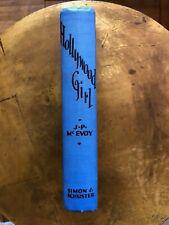 Hollywood Girl J P McEvoy VINTAGE Book 1929 Dixie Dugan