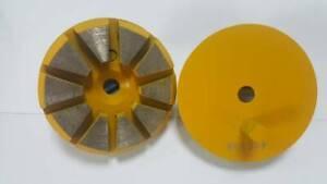 "3"" 10 Segments 30 Grit Medium Metal Bond Diamond Tools For Concrete"