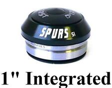 """First Spurs Integratd Headset 1"""" IS30 Sealed Bearing Bicycle Headset BLACK 3036A"""