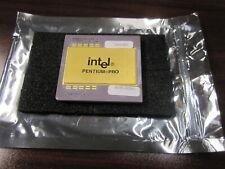Intel Pentium Pro SL22T 200MHz Cache Socket 8 Scrap GOLD Recovery CPU Processor