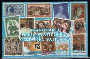 Vatican 1991 Sistine Chapel Paintings Booklet Sc# 877a NH