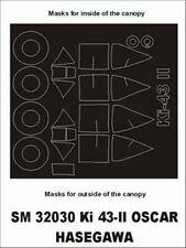 Montex Mini Mask 1:32 Ki-43 II Oscar for Hasegawa Kit Spraying Stencil #SM32030
