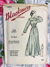 """1950's Vintage Sewing Pattern Blackmore 7305 Nightdress Bust 40"""" Unused Vintage"""