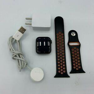Apple Watch Nike+ Series 5 Gray Sport Cellular 40mm/Orange Sport Band 4/10