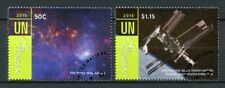United Nations UN New York 2018 CTO UNISPACE +50 2v Set Space Stamps