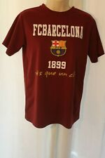 Licensed FC Barcelona 1899 Shirt Size Youth Large  100% Polyester.
