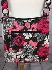 Vera Bradley pink floral shoulder Bag 100% Cotton
