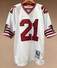 Deion Sanders Atlanta Falcons 1989 NFL Mitchell & Ness Throwback Shirt Jersey