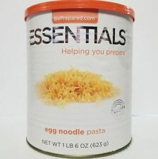 Emergency Essentials Freeze Dried Food Egg Noodle Pasta #10 Can