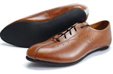 Quoc Pham Fixed Cycling Shoes Tan and Brown L'Eroica
