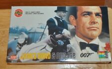 Airfix James Bond & Odd Job Plastic Model Kits 1:12 Scale Two Kits In One