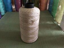 Polypropylene Yarn Cord 2mm 3 ply 240+ yds mono & multi-filament 110gr 36 Beige