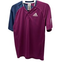 Adidas Purple & Blue Climacool Running Top Size Small