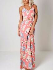 Strappy Floral Women's Maxi Dresses