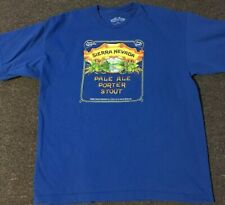 Vtg Sierra Nevada Pale Ale Shirt XL USA Beer Brewing Alcohol 90s IPA Craft Pbr