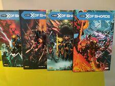 LOT X OF SWORDS VOLUME 1-2-3-4 EDIT. SOUPLE PANINI COMICS HICKMAN  DAWN  X-MEN