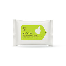 Innisfree Apple Seed Cleansing Tissue 15 sheets, Korea Cosmetic Skin Care