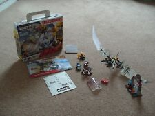 Hasbro Kre-o Transformers Dino Force Cell Block Breakout A6951 Box & Booklet
