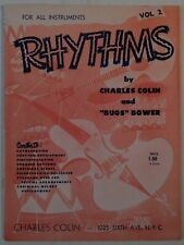 Chorles Colin Bugs Bower Rhythms For All Instruments Vol 2 Charles Colin book