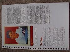 Al Rosen 1989 Baseball Card Engagement Book w/ 1954 Red Heart Dog Food