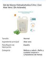 Gel de Manos Hidroalcoholico 5 ltrs | Con Aloe Vera |Más Careta Sin Costo