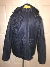 BNWT Michael Kors Primaloft Hooded Jacket. Midnight Blue. Size L