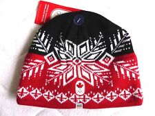 New ! 2018 Adult TEAM CANADA WINTER OLYMPICS Red OFFICIAL BEANIE HAT Toque Tags