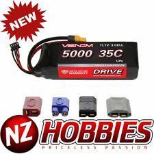 Venom 15026 3S 11.1V 5000mAh 35C Lipo Battery : Traxxas XT60 EC3 Deans Plugs
