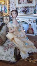 Dollhouse Miniature Artisan Porcelain Doll