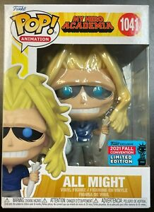 MY HERO ACADEMIA FUNKO POP! NYCC 2021 EXCLUSIVE WEAKENED ALL MIGHT IN HAND