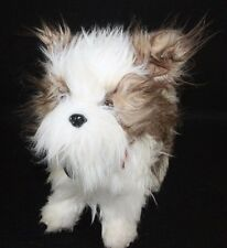 Yorkie Doggie Bag Schnauzer Novelty Plush Dog Purse Zipper Bag