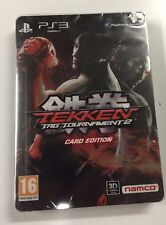 JEU SONY PS  3 Coffret collector TEKKEN TAG TOURNAMENT 2 CARD EDITION NEUF