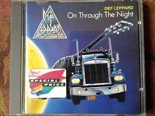 DEF LEPPARD  ON THROUGH THE NIGHT (1986) MERCURY CD