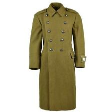 Genuine Romanian Trench Coat Military Army Wool Overcoat Heavy Winter Shinel NEW