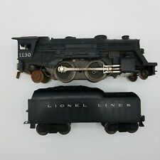Lionel 1130 Columbia Type 2-4-2 Steam Locomotive O/O27 with Tender Engine Train
