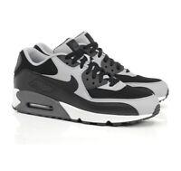 Nike Air Max 90 Essential Black/Wolf Grey Mens Sizes NIB 537384-053